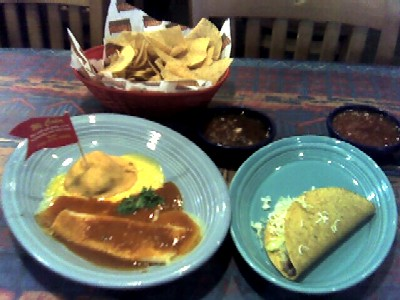 Mexican food -- sort of